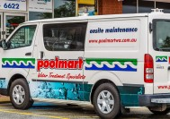 At Poolmart WA we use a fleet of dedicated fully equipped service Vehicles that come to you.