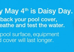 Daisy Day Pool Cover